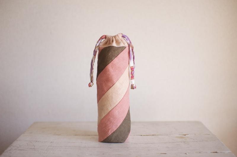 草木染めペットボトルフォルダー