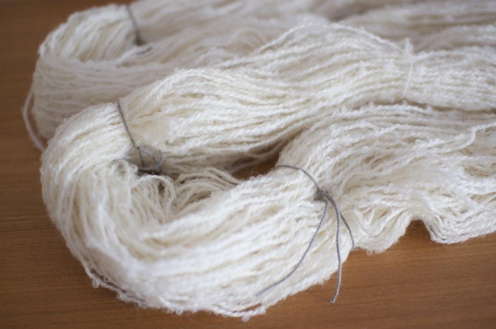 毛糸の染め方