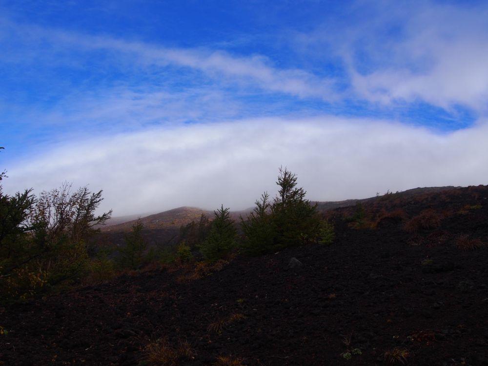 富士山5合目紅葉