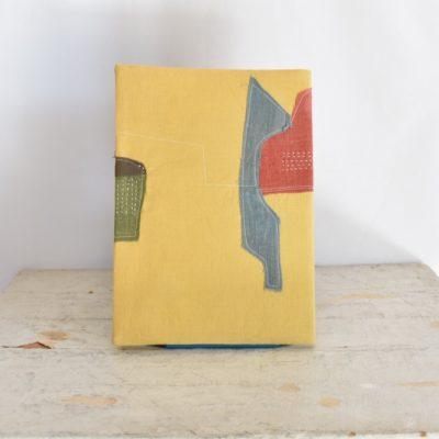 草木染め 大人のノートカバー コラージュ♯01