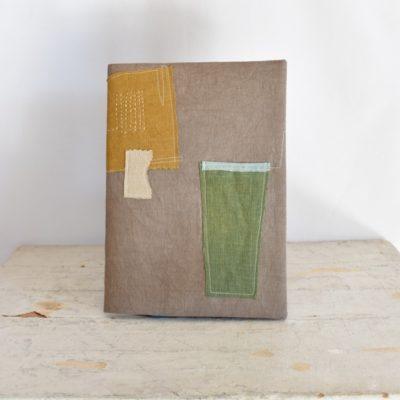 草木染め 大人のノートカバー コラージュ♯02