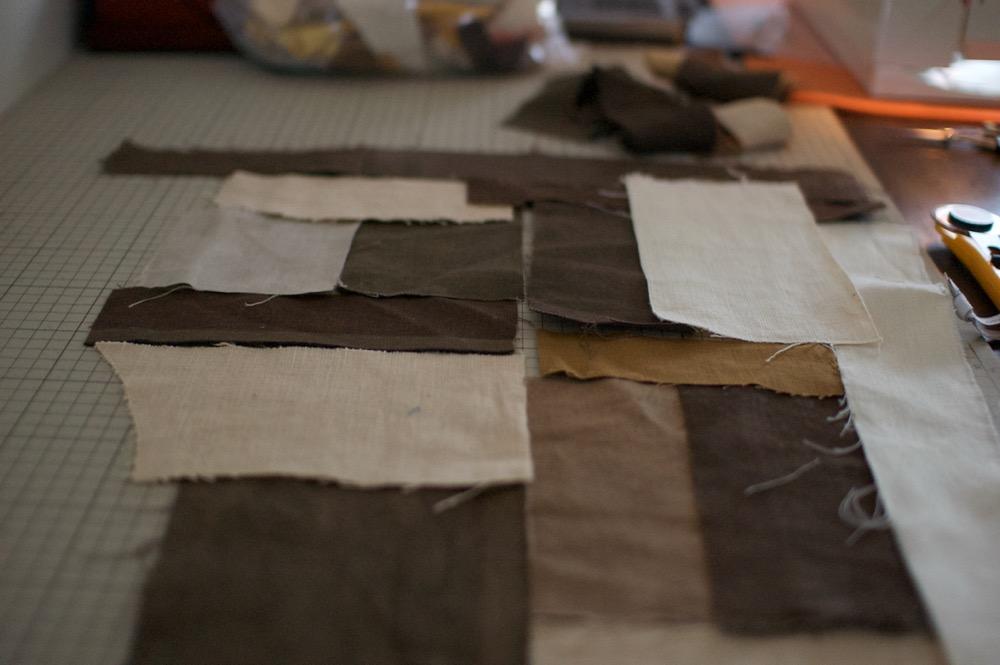 草木染め布