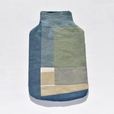 草木染め:モダンキルトの湯たんぽ #08