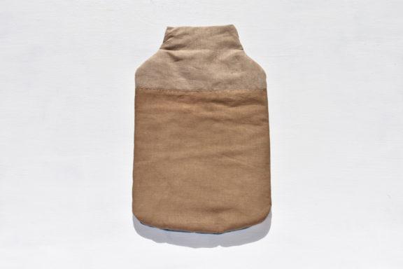 草木染め:モダンキルトの湯たんぽ #09